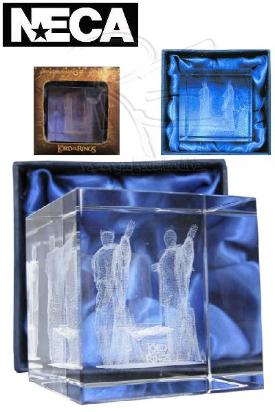 Neca The Lord of the Rings Argonath Laser Etched Paperweight