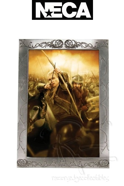 Neca The Lord of the Rings Legolas Pewter Picture Frame