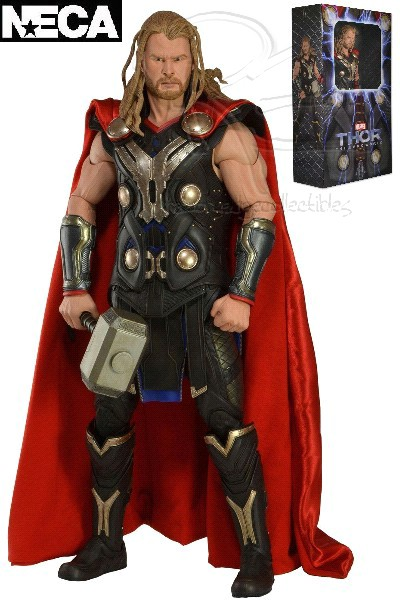 Neca Marvel Thor The Dark World 18 Inch Thor Figure