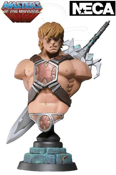 Neca Masters of the Universe He-Man Resin Mini Bust AP