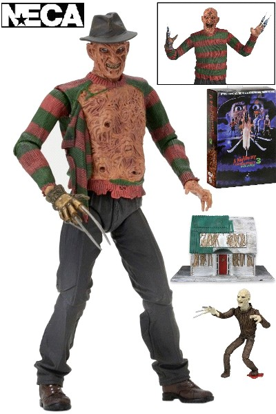 Neca Nightmare on Elm Street Part 3 Ultimate Freddy Figure