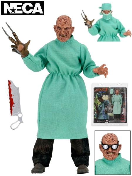 Neca Nightmare on Elm Street Surgeon Freddy 8 Inch Figure