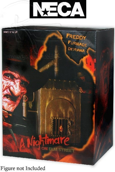 Neca Nightmare on Elm Street Freddy Furnace Diorama
