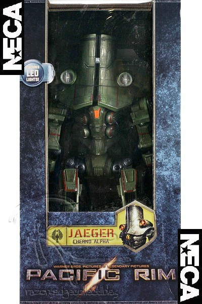 Neca Pacific Rim Light Up Cherno Alpha 18 Inch Action Figure