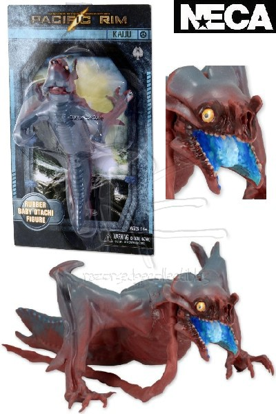 Neca Pacific Rim Baby Otachi 7 Inch Long Rubber Figure