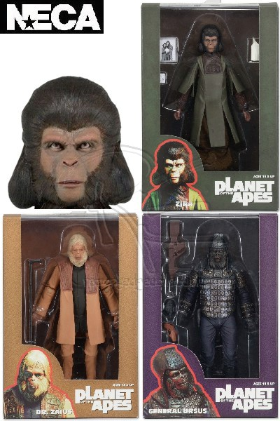 Neca Planet of the Apes Classic Series 2 Action Figure Set of 3