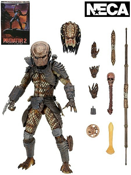 Neca Predator 2 Ultimate City Hunter 7 Inch Scale Figure