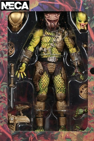 Neca Predator Elder Golden Angel Predator Ultimate Action Figure