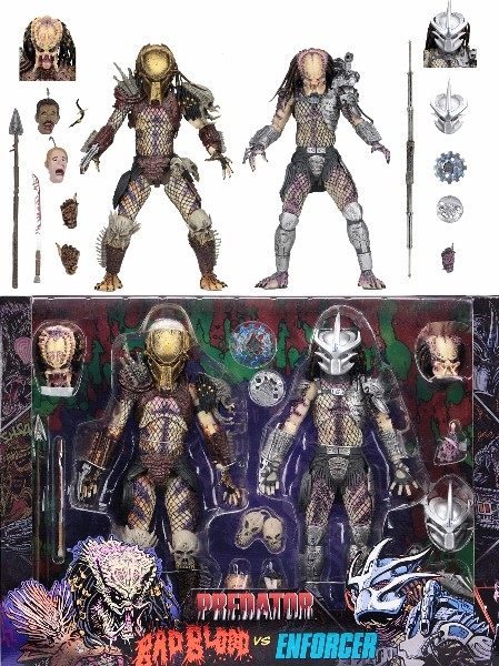 Neca Predator Ultimate Bad Blood vs Enforcer Figure 2 Pack