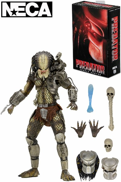 Neca Predator Ultimate Jungle Hunter Action Figure