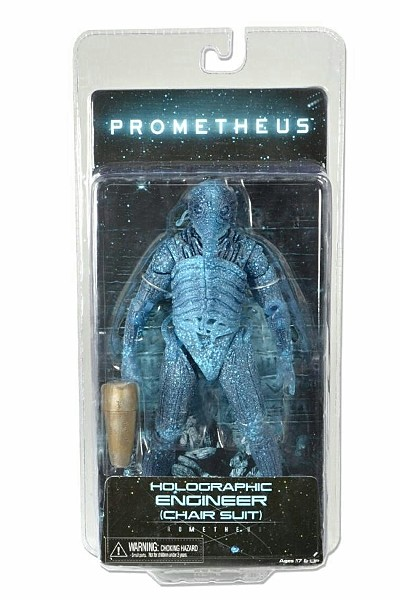 Neca Prometheus Holographic Engineer Chair Suit Figure