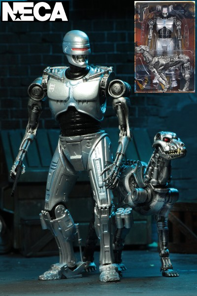 Neca RoboCop vs Terminator EndoCop and Dog Figure 2 Pack