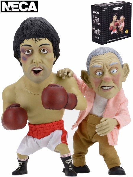 Neca Rocky and Mickey Limited Edition Puppet Maquette Set