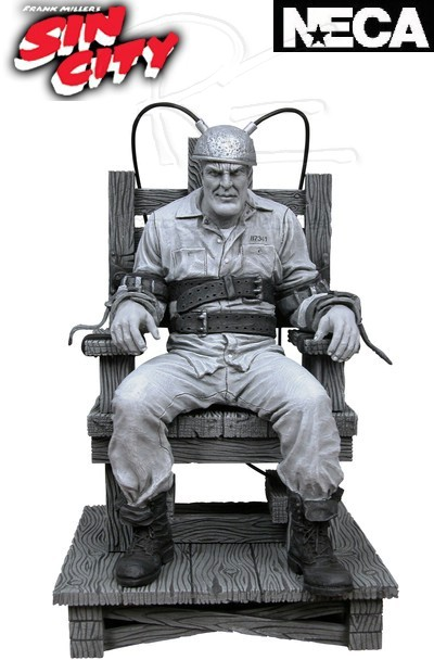 Neca Sin City Death Row Marv with Electric Chair Figure