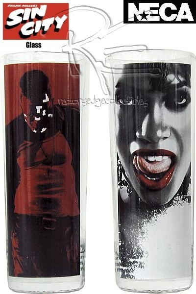 Neca Sin City Marv and Gail Shooter Shot Glass Set 2 Pack