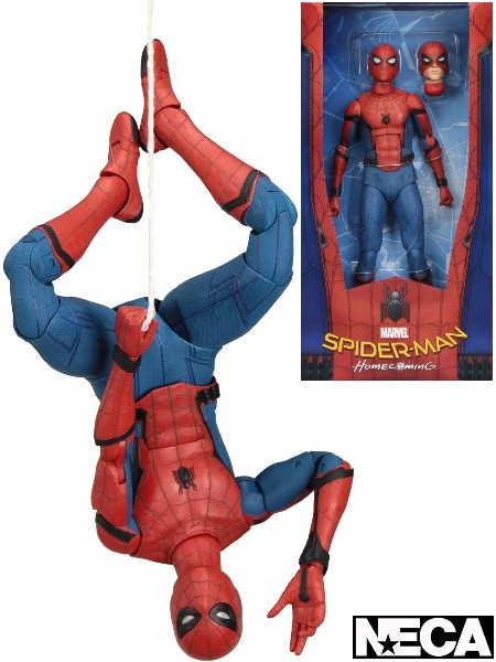 Neca Marvel Spider-Man Homecoming Quarter Scale Action Figure