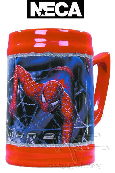 Neca Marvel Spider-Man 2 Movie Stoneware Stein Mug