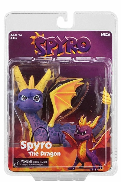 Neca Spyro The Dragon 7 Inch Scale Action Figure