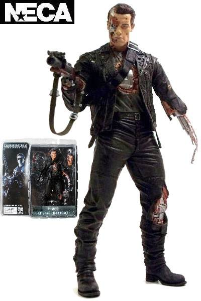 Neca Terminator 2 Series 2 T-800 Final Battle Action Figure