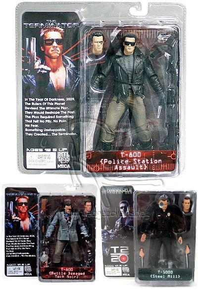 Neca Terminator Collection Series 2 Action Figure Set of 3