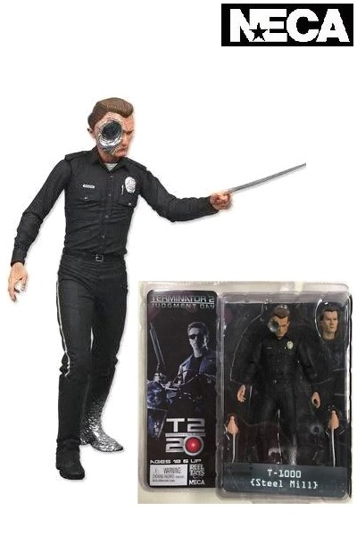 Neca Terminator T-1000 Steel Mill Action Figure