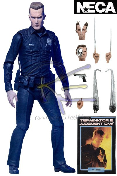 Neca Terminator 2 Ultimate Terminator T-1000 Action Figure