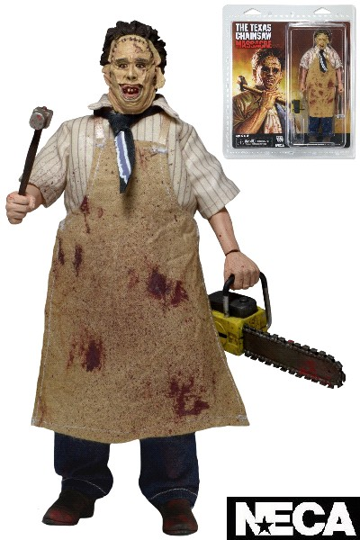 Neca Texas Chainsaw Massacre Leatherface Retro Style Figure