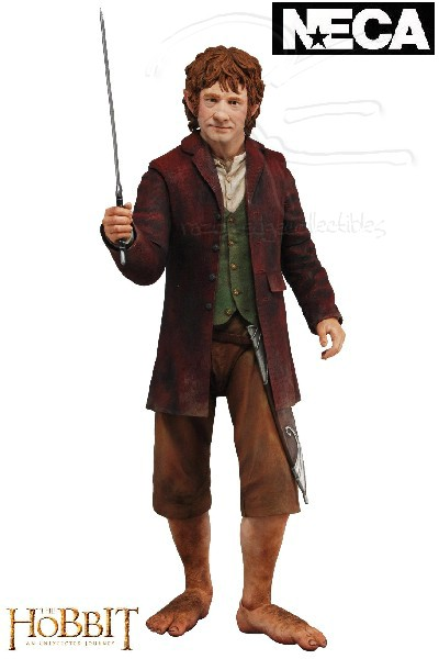 Neca The Hobbit Bilbo Baggins Quarter Scale Action Figure