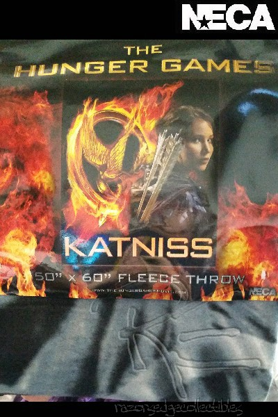 Neca The Hunger Games Katniss 50 x 60 Fleece Throw Blanket