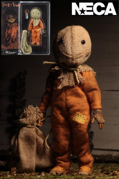 Neca Trick R Treat Sam Clothed 8 Inch Action Figure