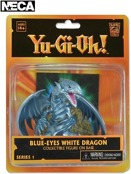 Neca Yu-Gi-Oh Blue Eyes White Dragon 3.75 Inch Figure