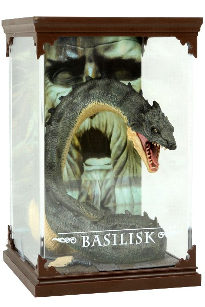 Noble Collection Harry Potter Magical Creatures Basilisk Figure