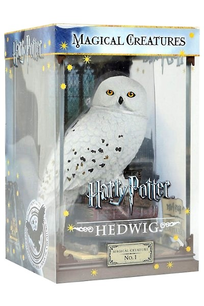 Noble Collection Harry Potter Magical Creatures Hedwig Figure