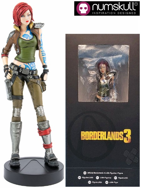 Rubber Road Limited Numskull Designs Borderlands 3 Lilith Statue