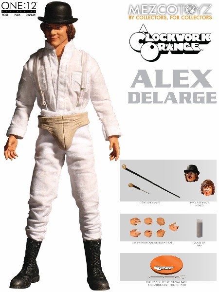 One 12 Collective A Clockwork Orange Alex DeLarge Figure