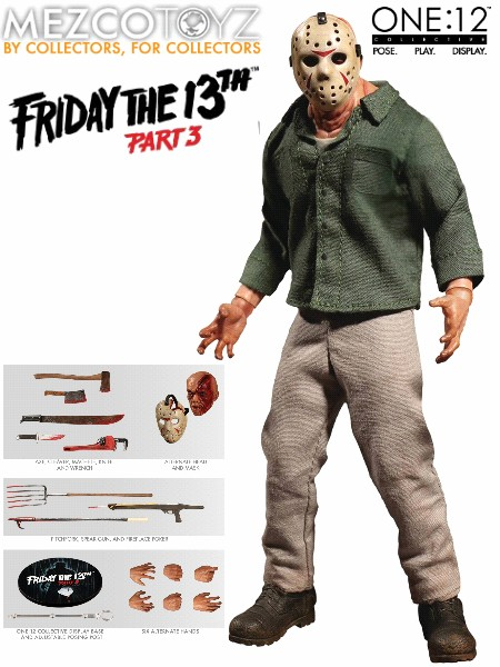 One 12 Collective Friday the 13th Part 3 Jason Voorhees Figure