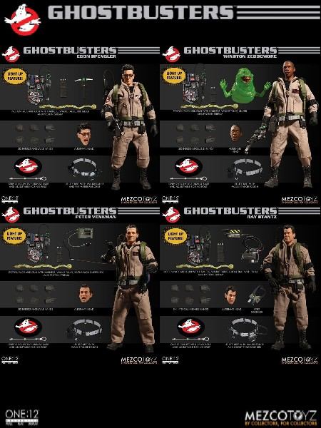 One 12 Collective Ghostbusters Deluxe Figure Box Set