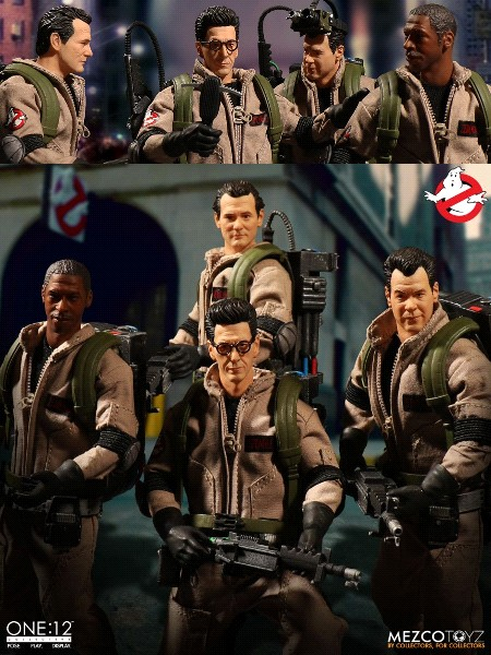 Preorder Mezco One 12 Collective Ghostbusters Deluxe Box Set