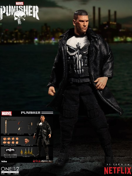 One 12 Collective Marvel Netflix The Punisher Action Figure
