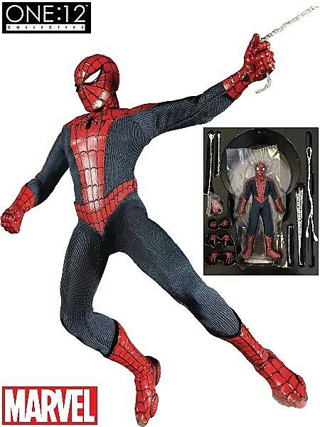 One 12 Collective Marvel Spider-Man 6 Inch Scale Figure