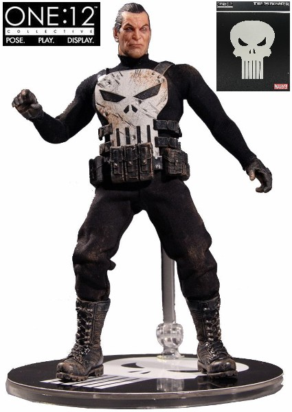 One 12 Collective Marvel The Punisher 6 Inch Scale Figure