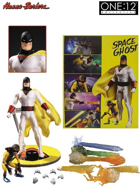 One 12 Collective Hanna Barbera Space Ghost Collectible Figure