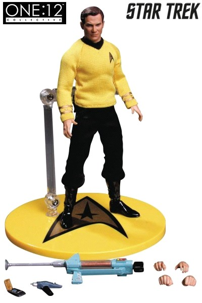 One 12 Collective Star Trek Captain Kirk 6 Inch Scale Figure