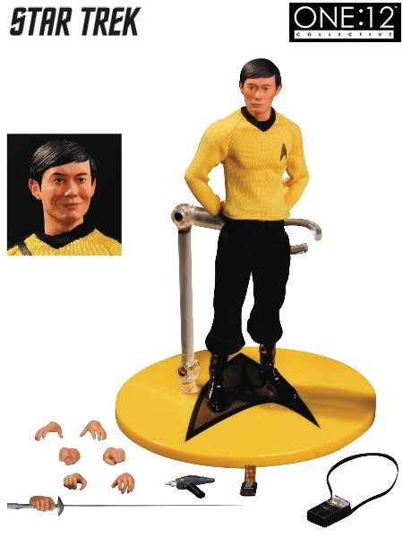 One 12 Collective Star Trek Sulu 6 Inch Scale Figure