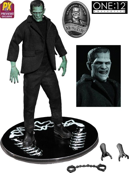 One 12 Collective Universal Monsters Color Frankenstein Figure