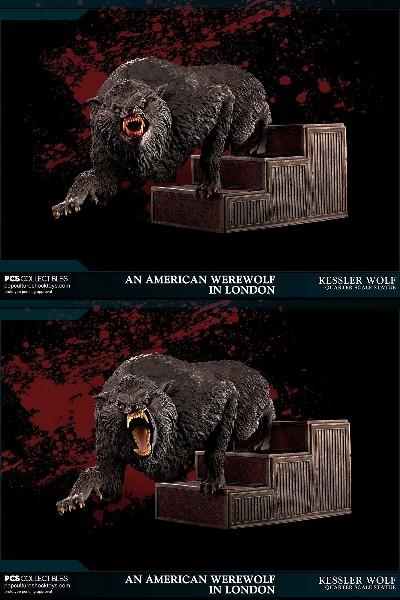 Pop Culture Shock American Werewolf in London Exclusive Statue