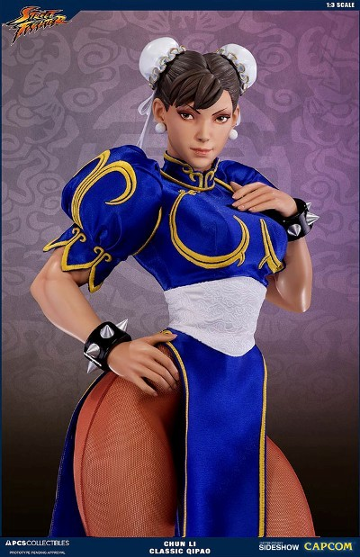 Pop Culture Shock Street Fighter Chun Li Classic Qipao 1 3 Scale Statue New Ebay