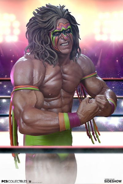 Pop Culture Shock Collectibles WWE The Ultimate Warrior Statue