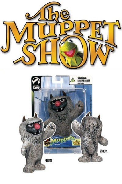 Palisades The Muppet Show Series 3 Mini Doglion Figure