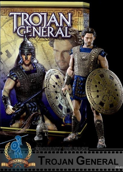 Pangaea Toy Trojan General Hector of Troy Sixth Scale Figure